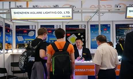 Shenzhen Aglare Lighting Co.,Ltd has achieved complete success in Germany LED industry exhibition in June,2014.