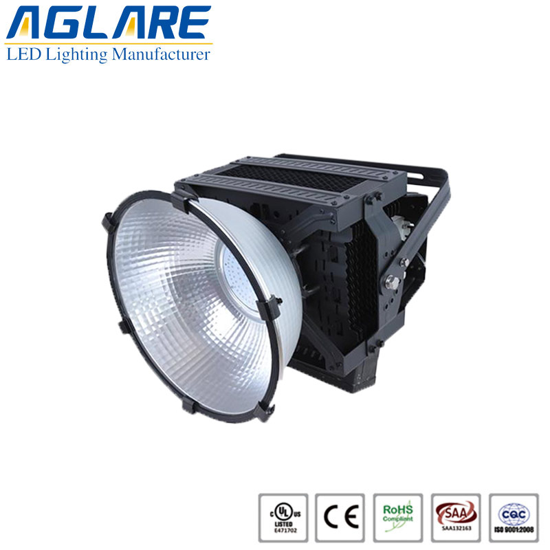 500W IP65 industrial led high bay light manufactur...